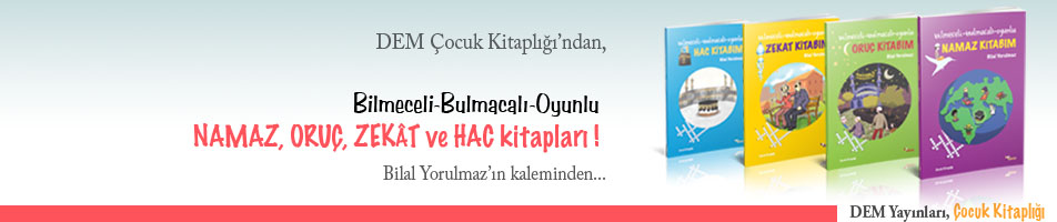 Bilmeceli-Bulmacalı-Oyunlu -- Namaz, Oruç, Zekat ve Hac Kitapları